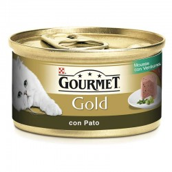 Gourmet Gold Mousse Pato Espinaca 24X85Gr