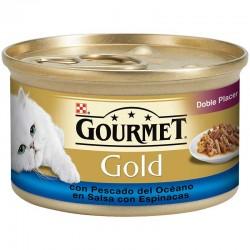 Gourmet Gold Dob.lacer Pesc.Oceano Espin.24X85Gr