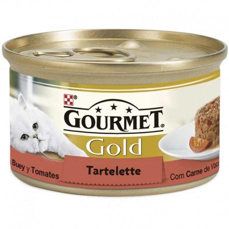 Gourmet Gold Tartallette Buey Tomate 24X85Gr