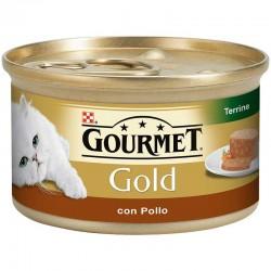 Gourmet Gold Tarrina Pollo 24X85Gr