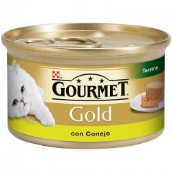 Gourmet Gold Tarrina Conejo 24X85Gr