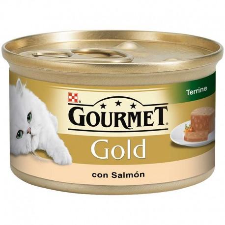 Gourmet Gold Tarrina Salmon 24X85Gr