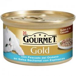 Gourmet Gold Guiso cazla.Pesc.Oce&espin. 24x85g