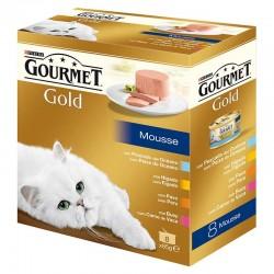 Gourmet Gold Mousse Surtido Mpack 8x85g