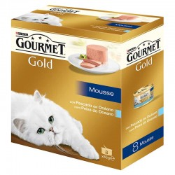 Gourmet Gold Mousse Pes.Oceano Mpack 12x8x85g
