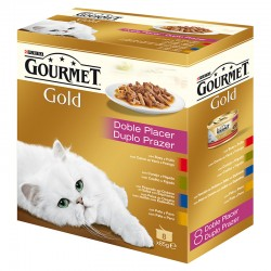 Gourmet Gold Doble Placer Surtido Mpack 8x85g