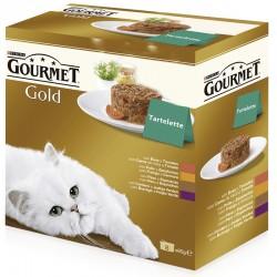 Gourmet Gold Tartallette Mpack 12x8x85gr