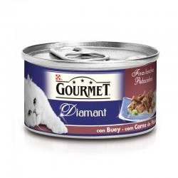 Gourmet Diamant Finas Lonchas con Buey 24x85g