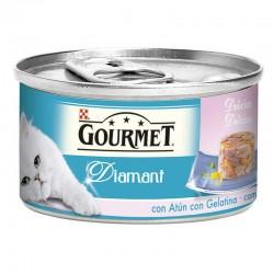 Gourmet Diamant Lamins Atun Gelat.Gambas 24x85g