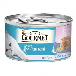 Gourmet Diamant Lamins Atun Gelat.Gambas 24X85Gr