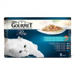 Gourmet Perle Multip.Delicias del Oceano 4x85g