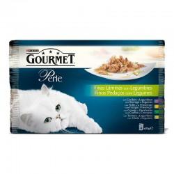 Gourmet Perle Multip.Fins Lamins Legumbres 4x85g
