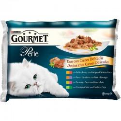 G.Perle Fins lamins Duo Carne Delicada Salsa 4x85g