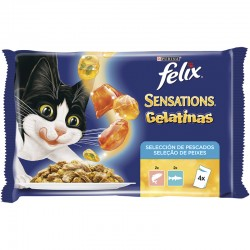 Felix Sensat.Salmon&Gambas&Trucha Mpack 4x100gr