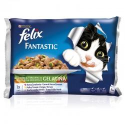 Felix Fantastic Seleccion De Verduras 10X4X100Gr