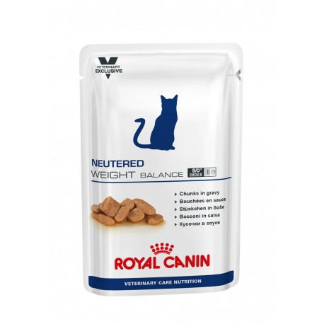 Vcn Neutered Cat Weight Pouch 100Gr X 12Ud