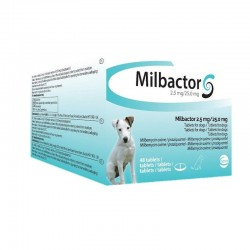 Milbactor Perro Peq - Puppy 25/2,5 Mg 48 Comp