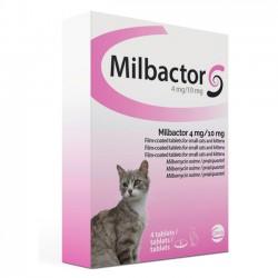 Milbactor Gato Peq 10/4 Mg 0,5 Kg 4 Comp