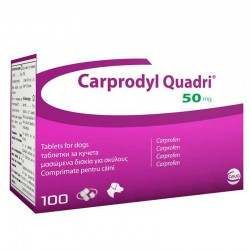 Carprodyl Quadri 50Mg x100 Comp.