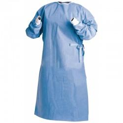 Bata Quirurgica Esteril L Azul Henry Schein