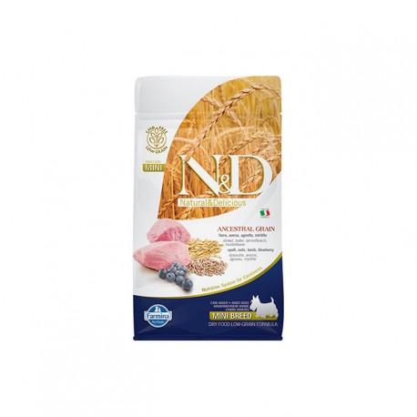 Farmina Adult Mini Cordero Cereales Perro 800Gr