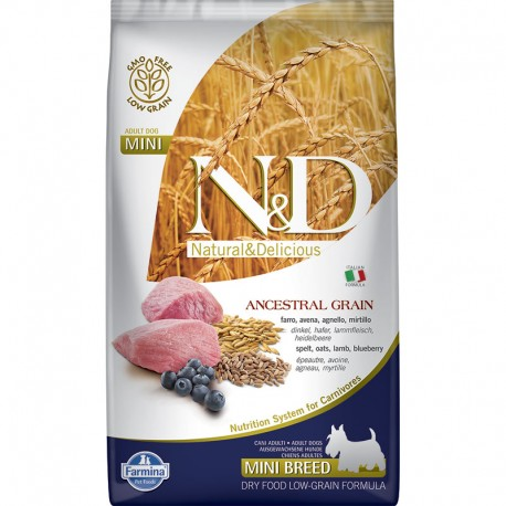 Farmina Adult Mini Cordero Cereales Perro 2,5Kg
