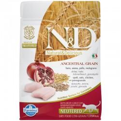 Farmina Neutered Pollo Cereales Gato 300Gr
