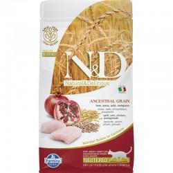 Farmina Neutered Pollo Cereales Gato 1,5Kg