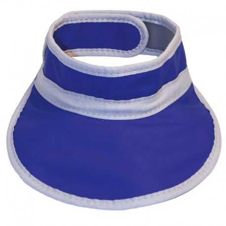 Collar Tiroideo Plomado Azul Rayos X (0.5 MM PB)