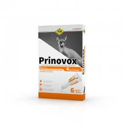 Prinovox Gato Pequeño 0,4Ml x 6 Pip 0-4Kg