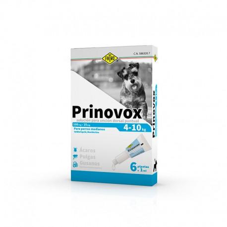 Prinovox Perro 1ml x 6 Pip 4-10kg