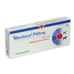 Marbocyl Palatable 80Mg 6 Comp