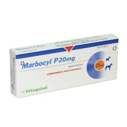 Marbocyl Palatable 20Mg 100 Comp