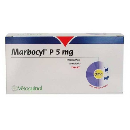 Marbocyl Palatable 5Mg 10 Comp