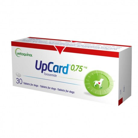 Upcard 0,75Mg 30 Tabs