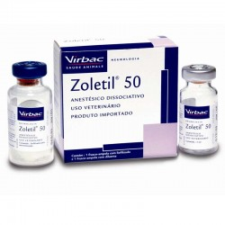 Zoletil -50 -Anestesico Inyectable