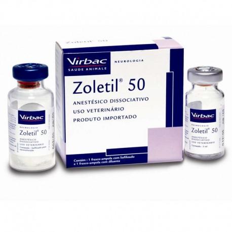 Zoletil -50 -Anestesico Inyectable