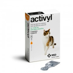 Activyl Cats 100Mg Spot On 4 Pipetas