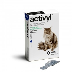 Activyl Cats 200Mg Spot On 4 Pipetas