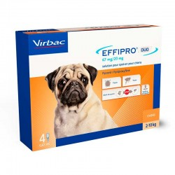 Effipro 67 Mg Duo Spot On Perro Peque?o 4Pip