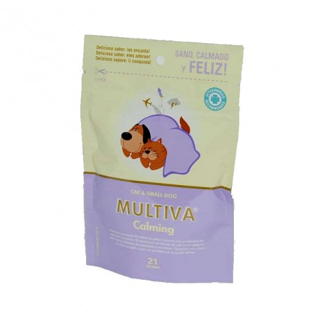 Multiva Calming Cat And Small Dog 21 Chews