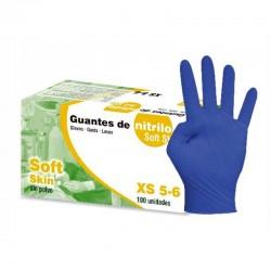 Guantes Nitrilo No Esteril Soft XL 100Ud