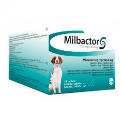 Milbactor Perro 125/12,5 Mg 5Kg 48 Comp