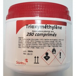 Pastilla Trioximetileno 250Gr
