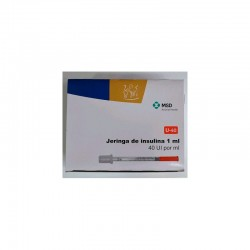"Jeringas Insulina 1,0Ml 29G x 1/2"" (30)"