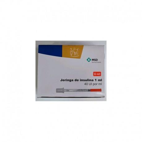 "Jeringas Insulina 1,0Ml 29G x 1/2"" (30)"