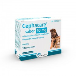 Cephacare Sabor 50Mg 100 Comp