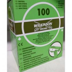 Rasuradora Wilkinson 1 Hoja 100Uds