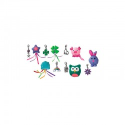 CA422E KONG Cat Charmed Characters + Abalorio