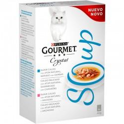 Gourmet Nature´s Creation Soup Atun MP 10 4X40Gr